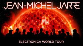 """Jean-Michel Jarre rozpoczyna światową trasę  """"ELECTRONICA"""" 5 listopada, Atlas Arena Łódź , 6 listopada, Spodek, Katowice"""