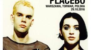Placebo 29 października na warszawskim Torwarze.