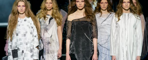 Pokaz kolekcji Aleksandry Jendryki podczas 8 edycji konkursu Fashion Designer Awards