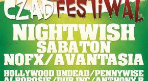 Nightwish pierwszym headlinerem Czad Festiwal 2016