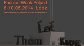 Wykłady otwarte w ramach szkoleń Let Them Know 10. edycji FashionPhilosophy Fashion Week Poland