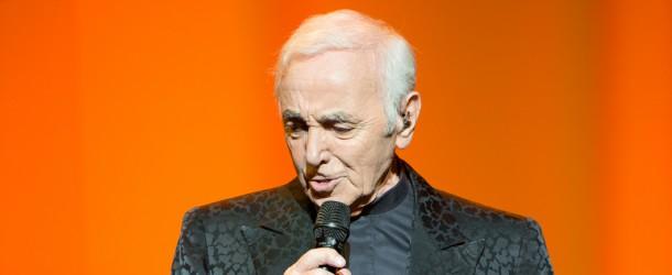 Charles Aznavour  wystąpił w Sali Kongresowej