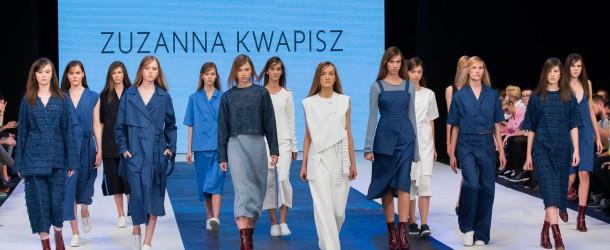 "Zuzanna Kwapisz / SS'16 / Fashion Week Poland / ""fabric collages"""