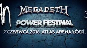 Korn, Megadeth oraz Sixx:A.M. zagrają w czerwcu na Power Festival w Łodzi