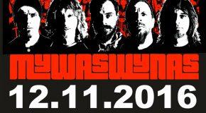 Znamy support koncertu Luxtorpeda (Kraków – 12.11.2016 – Klub Kwadrat)
