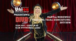 Maryla Rodowicz DIVA TOUR 23.09.2017 godz. 19:00