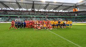 Wielki Mecz – zmierzyły się  drużyny Wielkiej Orkiestry Świątecznej Pomocy i TVN