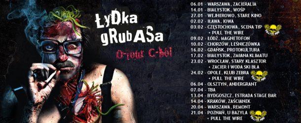 Łydka Grubasa  ogłasza druga część trasy O-tour C-ból