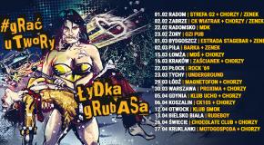 Łydka Grubasa zapowiada wiosenne granie utworów!
