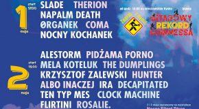 Tańsze bilety dla gitarzystów na koncerty festiwalu 3-Majówka 2019!